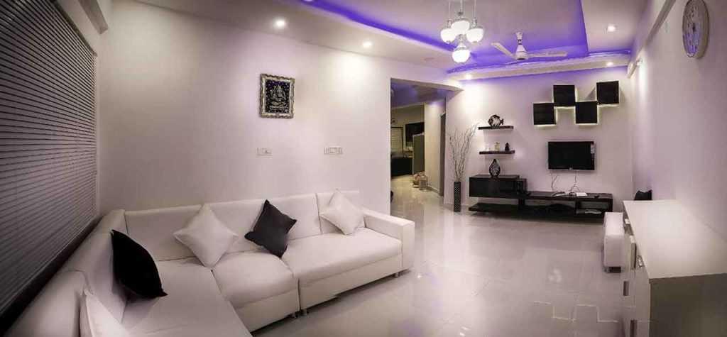 Deckenfluter Deckenleuchte LED-Lampe LED